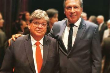 """ricardo barbosa joão azevedo - Ricardo Barbosa parafraseia Bolsonaro e diz que dentre os 'Governadores de Paraíba' orgulha-se de João: """"Gestor operoso, homem honrado"""""""