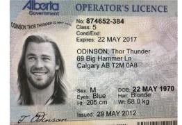 """Homem usa """"dados"""" de Thor e cria documento falso para comprar maconha"""