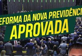 'O Brasil venceu', comemora Julian Lemos após reforma da Previdência ser aprovada com 379 votos na Câmara dos Deputados