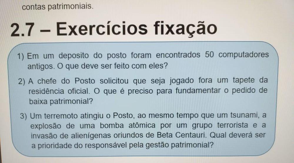 whatsapp image 2019 07 02 at 23.06.11 - BETA CENTAURI: Curso do Itamaraty pergunta como proceder em caso de invasão de alienígenas