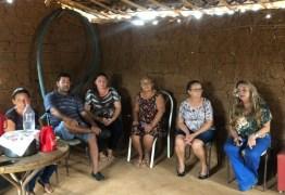 Em Brasília, Dra. Paula busca recursos para transformar casas de taipa em alvenaria em Cajazeiras