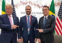 Trump afirma em coletiva que 'não sabia' que indicação de Bolsonaro para embaixada era filho dele