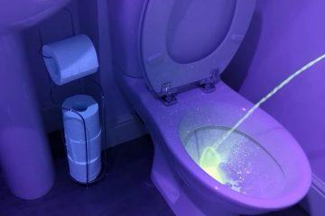 xixi 600x399 - Homem deve fazer xixi sentado; Vídeo com ultravioleta mostra motivo - ASSISTA