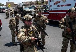 Tiros deixam pelo menos 15 mortos e dezenas de feridos em centro comercial no Texas