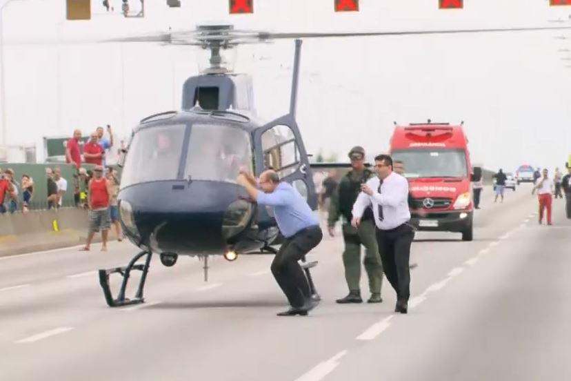 07 - Governador Wilson Witzel comemora morte de sequestrador no Rio - VEJA VÍDEO
