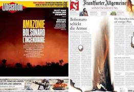 Para imprensa europeia, Bolsonaro é um 'câncer'