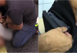 Homem é preso por filmar partes íntimas de mulheres no metrô