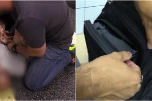 1 homem 12789979 300x201 - Homem é preso por filmar partes íntimas de mulheres no metrô
