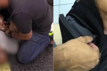 1 homem 12789979 - Homem é preso por filmar partes íntimas de mulheres no metrô