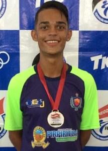 2 70 215x300 - Atleta paraibano conquista medalha de bronze em campeonato Brasileiro de Taekwondo no Rio