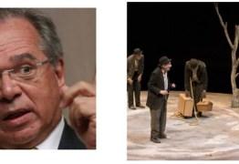 No teatro da vida, Paulo Guedes está esperando por Godot – Por Júnior Gurgel