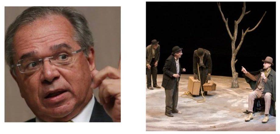 67850460 2313799965504083 6510591214331363328 n e1565558289336 - No teatro da vida, Paulo Guedes está esperando por Godot - Por Júnior Gurgel