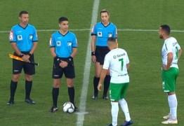 PROTESTO: Time de futebol não entra em campo e perde por W.O. na Série B