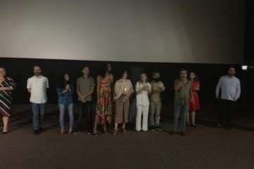 80358395 0fc1 45d1 9966 9076944afd21 - Com ingressos esgotados, 'Bacurau' tem pré-estreia em João Pessoa com a presença de atores do longa - VEJA VÍDEOS