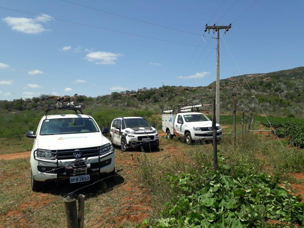 993e1e95 e4d3 401d 8c00 a017b2552ea3 - Energisa e Polícia Civil realização operação de combate ao furto de energia na zona rural de Boqueirão