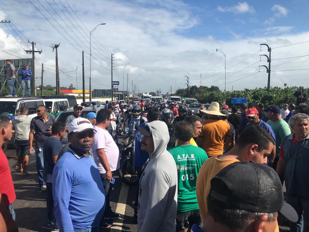 BR 3 - PROTESTO: Confira atualização de pontos de interdição nas rodovias na Paraíba: VEJA VÍDEO
