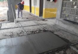 Obras do CREI do Assentamento Dona Antônia seguem em ritmo avançado