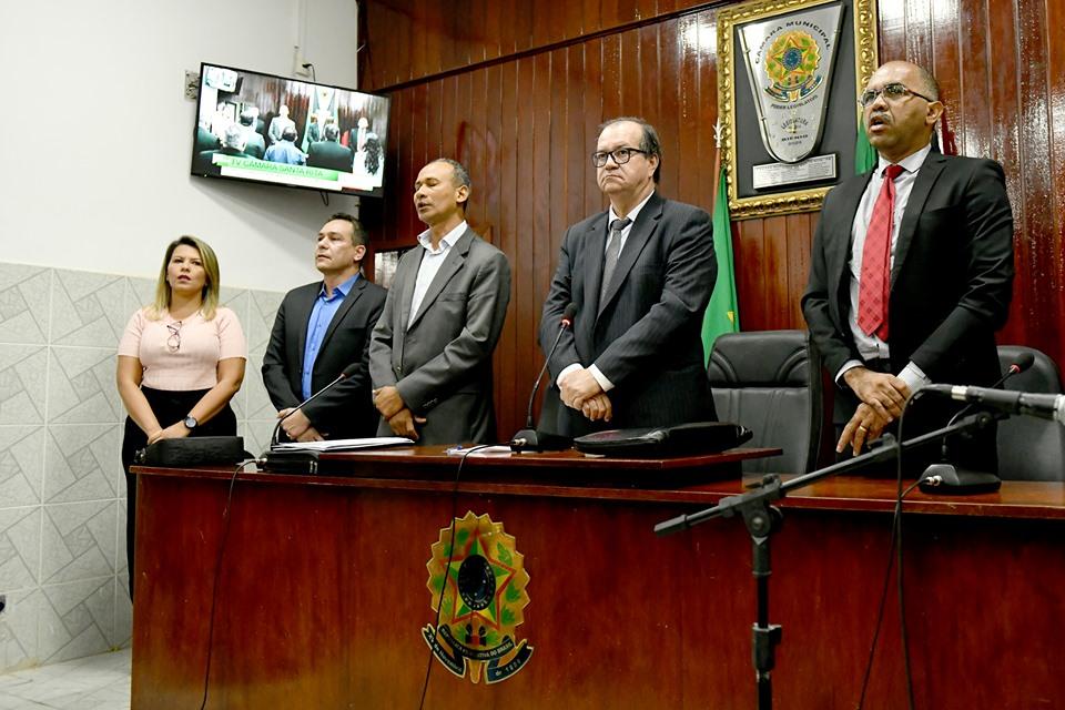 Camara Municipal - Prefeito participa de abertura do 2º semestre na Câmara de Santa Rita