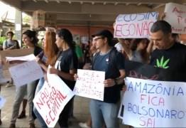 Ato pela Amazônia reúne manifestantes em João Pessoa