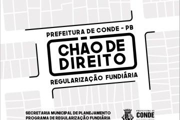 Chão de Direito - SEPLAN de Conde avança com Programa 'Chão de Direito' para regularização dos terrenos no conjunto Ademário Régis