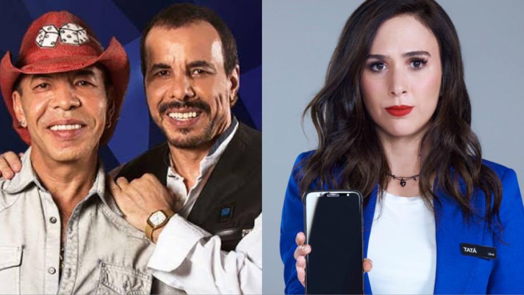 Chrystian Ralf nao gostou da brincadeira da apresentadora da Globo Tata Werneck - Dupla sertaneja critica Tatá Werneck: 'denigre a imagem dos artistas'