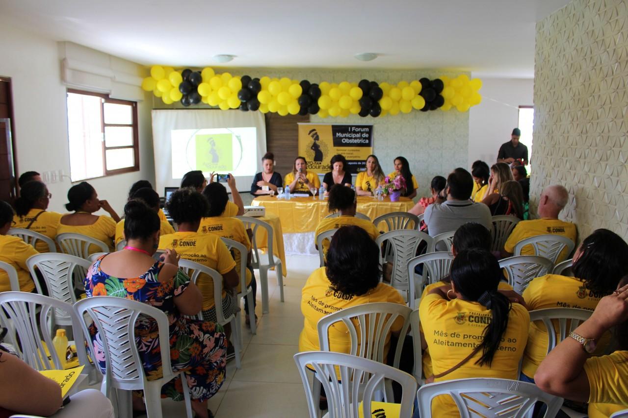 Fórum Municipal de Obstetrícia Fotos Leandro Santos Secomd 2 - Secretaria de Saúde de Conde promove Iº Fórum Municipal de Obstetrícia