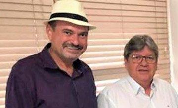 Governador João Azevedo e Deputado Jeová Campos e1566334757689 - Governador João Azevedo confirma a Jeová Campos pavimentação asfáltica da estrada de Boqueirão