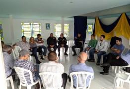 Prefeitura de Conde se reúne com moradores de Caxitu para avaliação das ações de segurança iniciadas na região