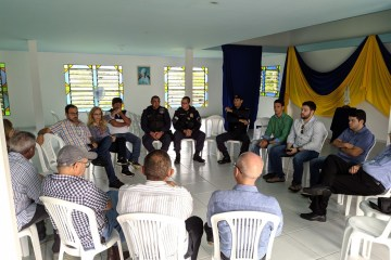 Reunião sobre ações de Segurança em Caxitu Fotos LeandroSantos Secomd 2 - Prefeitura de Conde se reúne com moradores de Caxitu para avaliação das ações de segurança iniciadas na região