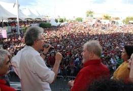 Ricardo e Lula em Monteiro 1 - Por que as oligarquias paraibanas tentam esvaziar o SOS Transposição? - Por Flávio Lúcio