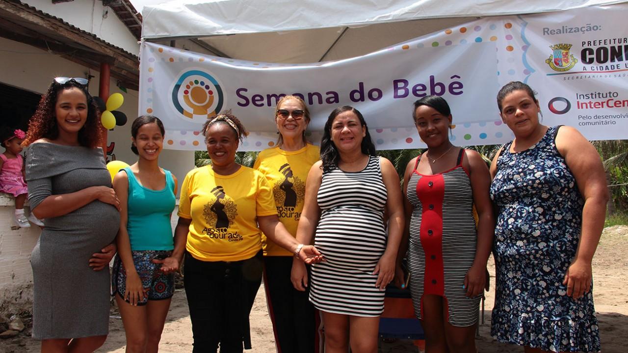 Semana do Bebê Mituaçu Fotos AltairCastro Secomd 1 - Conde promove segunda edição da Semana do Bebê com ações voltadas paras os cuidados na primeira infância