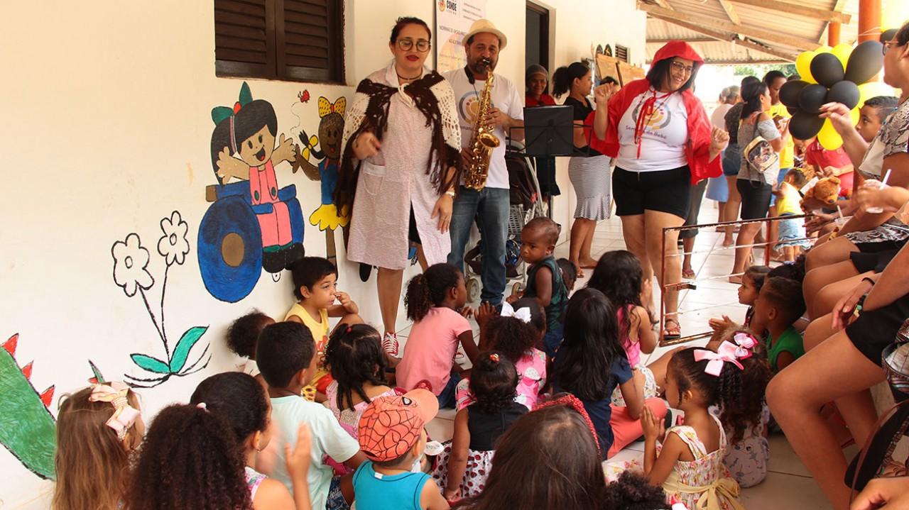 Semana do Bebê Mituaçu Fotos AltairCastro Secomd 2 - Conde promove segunda edição da Semana do Bebê com ações voltadas paras os cuidados na primeira infância