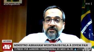WEINTRAUB 1 300x167 - 'NA PARAÍBA AS UNIVERSIDADES ESTÃO UM BRINCO', diz ministro Abraham Weintraub sobre contingenciamentos; VEJA VÍDEO