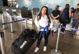 Atleta paraibana Mayara Rocha disputa o Campeonato Brasileiro de Levantamento de Peso nesta sexta em Curitiba