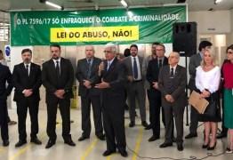 'LEI DO ABUSO, NÃO': magistrados, promotores e procuradores se mobilizam contra PL do Abuso de Autoridade – VEJA IMAGENS