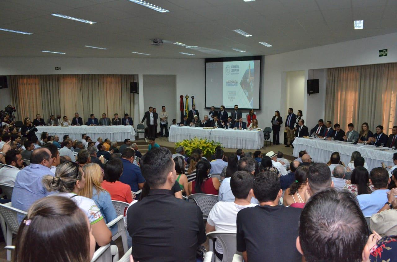 Em sessão inédita no Sertão, ALPB aprova 95 matérias e celebra aniversário de Cajazeiras