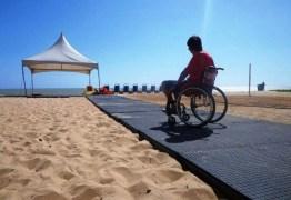 Moradoras querem que deficientes parem de ir à praia do Cabo Branco para não 'tirar beleza do lugar' que tem 'gente ilustre'