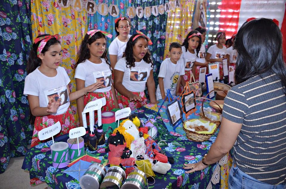 afro1 - Em Santa Rita, 11 mil alunos participam de projeto sobre cultura afro-brasileira