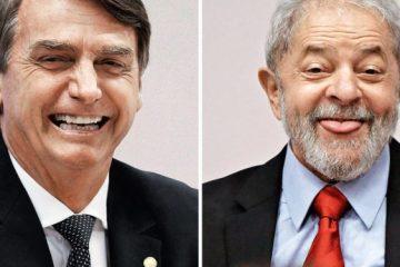 bolsonaro e lula 750x375 - ERGA OMNES: possibilidade de revogação de título de cidadania pessoense a Bolsonaro pode atingir condecoração dada a Lula