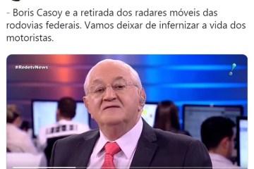 boris - Boris Casoy cria polêmica ao apoiar Jair Bolsonaro em jornal da RedeTV! VEJA VÍDEO