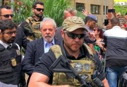 Lula afirma que sua transferência para SP é retaliação da Polícia Federal