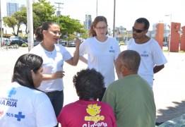 Secretaria de Saúde de João Pessoa promove atividades para pessoas em situação de rua no Parque da Lagoa