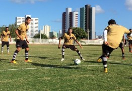 Piza quer Botafogo-PB inteligente contra o Náutico e deixa vaga no meio campo aberta