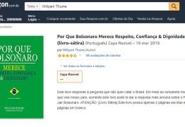 188 PÁGINAS EM BRANCO: Livro viraliza nas redes ao listar motivos para confiar em Bolsonaro