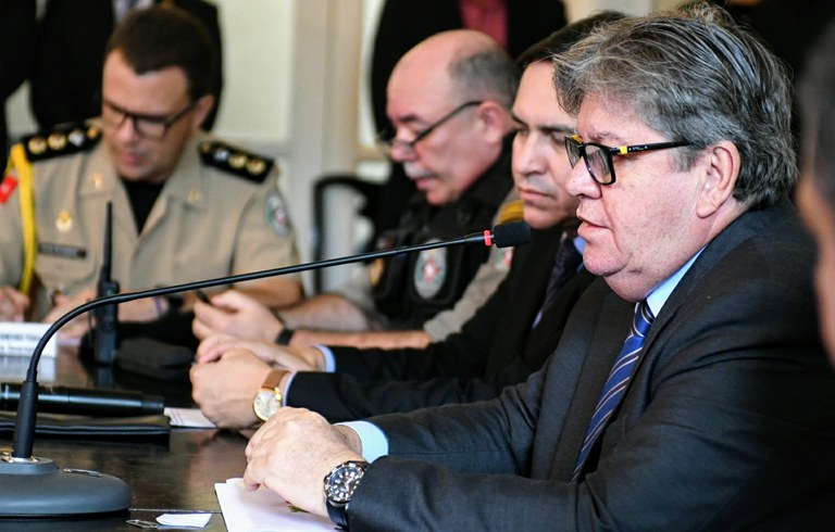 07f34f5d da03 45c8 be67 4b3d01637599 - Paraíba registra redução de 21,4% nos homicídios em oito meses e João parabeniza forças de segurança do estado