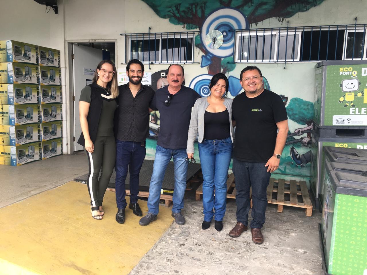 17 09 2019 recife - Secitec trabalha parceria na padronização de computadores e descarte do lixo eletrônico