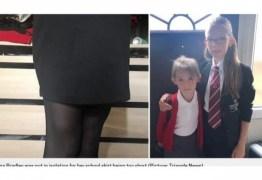 Mãe fica revoltada após escola isolar menina de 12 anos por usar 'saia muito curta'