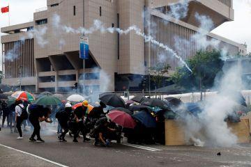 2019 08 31t095256z 227797246 rc1568198470 rtrmadp 3 hongkong protests 1 - Apesar de proibição, violentos protestos são registrados em Hong Kong