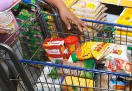 Preço da cesta básica em João Pessoa tem redução de 3,55%