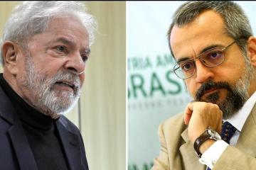 20190920210936 3d425f0e 3c43 4366 9e85 e00ad86ce21e - Lula: Weintraub é ignorante e não troco meu diploma primário pelo universitário dele